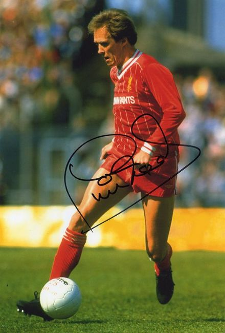 Phil Neal, Liverpool, England, signed 12x8 inch photo.
